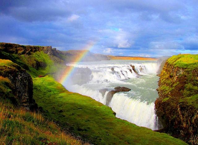 chute d'eau Gullfoss