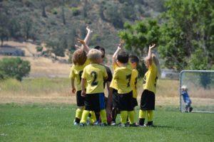 sport collectif, esprit d'équipe football julien manival